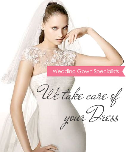 Wedding Dress Cleaning, Wedding Dress Cleaners